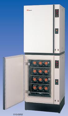 ローラーボトル培養用CO2インキュベーター
